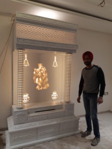#how to make #corian temple