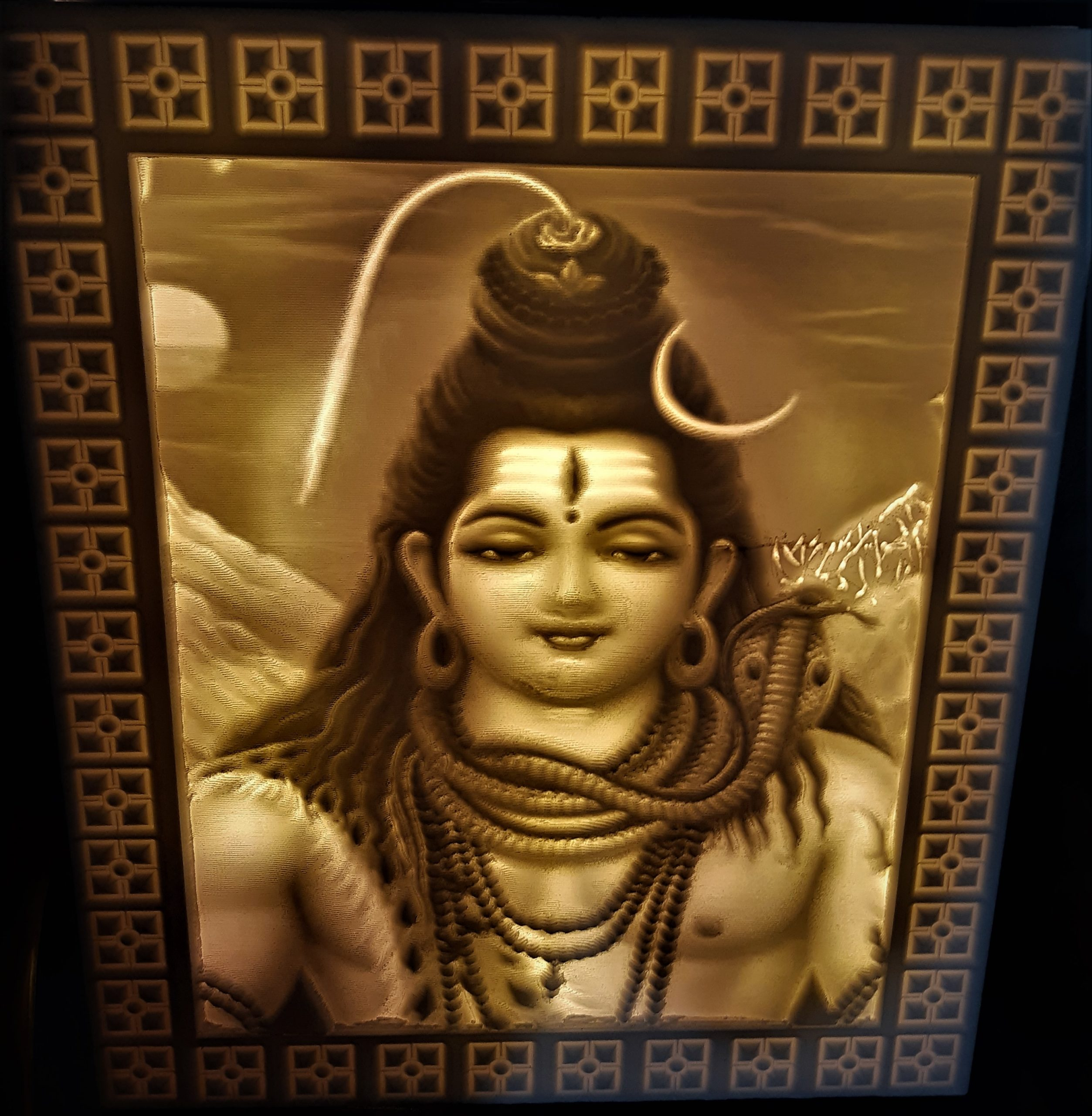 DESTROYER OF THE WORLDS LORD SHIVA